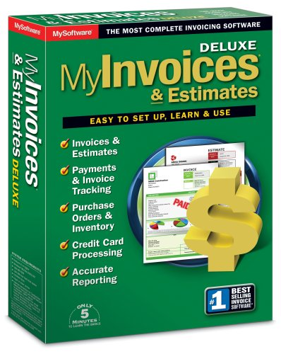 amazon com myinvoices estimates deluxe version 7 3585