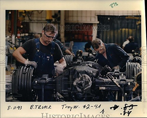1991 Press Photo Freightliner Corp - orb11716 - 1991 Freightliner