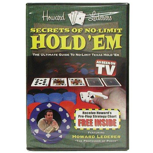 - Trademark Poker DVD - Secrets of No-Limit Hold'em with Howard Lederer Instructional (Multi)