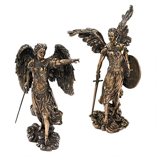 Design Toscano Uriel and Raphael The Archangel Sculptures