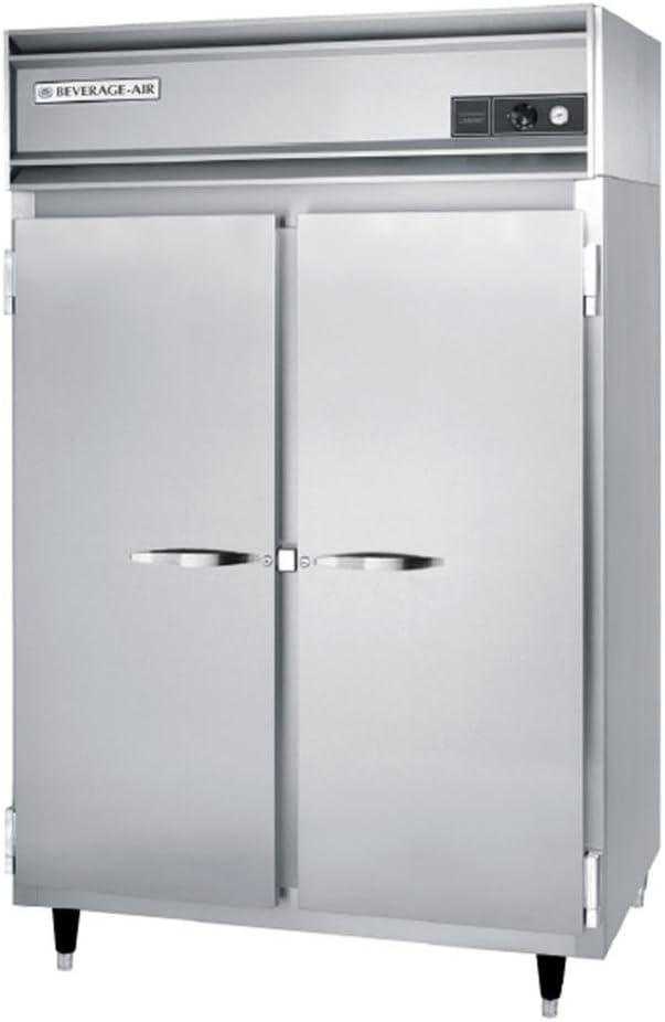 Beverage Air PH2-1S Top Mount Warming Cabinet w/ 2-Doors, Aluminum Exterior, 46.5-cu ft, Each