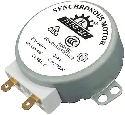1pcs AC 220 V - 240 V 50 Hz CW/CCW para plato giratorio del ...