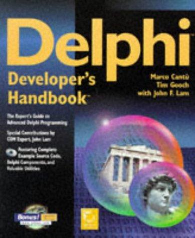 Delphi Developers Handbook ISBN-13 9780782119879