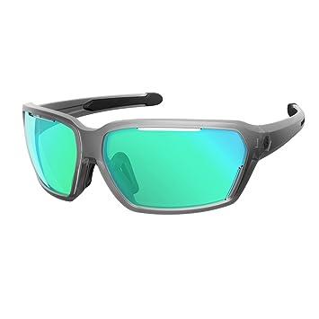 Scott Vector bicicleta gafas Transparente/Azul Cromo ...