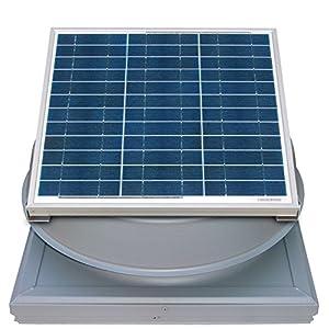 Remington Solar Attic Fan Solar 20 Watt Solar Powered