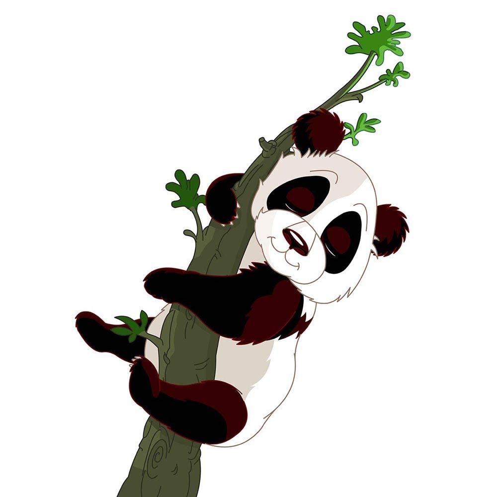 PINTURA wormart árbol de saco de dormir de oso PANDA diseño de 12 x 40,64 cm póster MP3075B: Amazon.es: Hogar