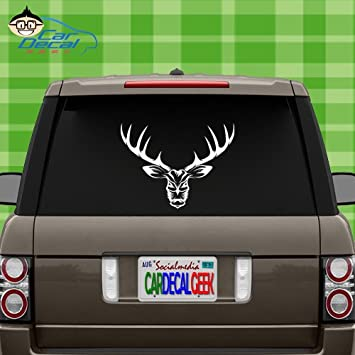 Amazoncom Bad Ass Deer Hunting Vinyl Decal Sticker For Car Truck - Badass vinyl decal stickers