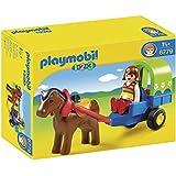 Playmobil 1.2.3 - Carrito con poni (6779)