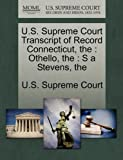 U. S. Supreme Court Transcript of Record Connecticut, , 1270034693