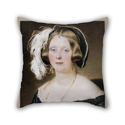 16 X 16 Inches / 40 By 40 Cm Oil Painting Sir William Charles Ross - The Honorable Susan Cavendish Throw Pillow Case,double Sides Is Fit For Lover,valentine,son,father,office,home Theater