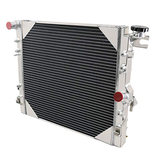 3Row Aluminum Radiator For 2007-2015 Jeep Wrangler 3.8 3.6 2957