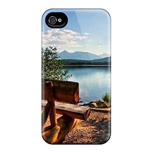 New Premium Flip Cases Covers Lake Skin Cases For Iphone 6