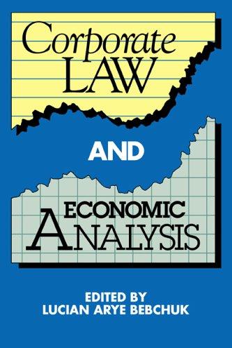 Law and Economics Corporate Control