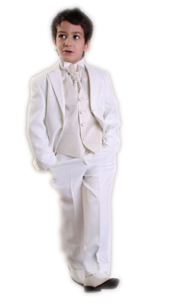 MLT Boy's Custom Made Party Prom Wedding Suit Set (L)