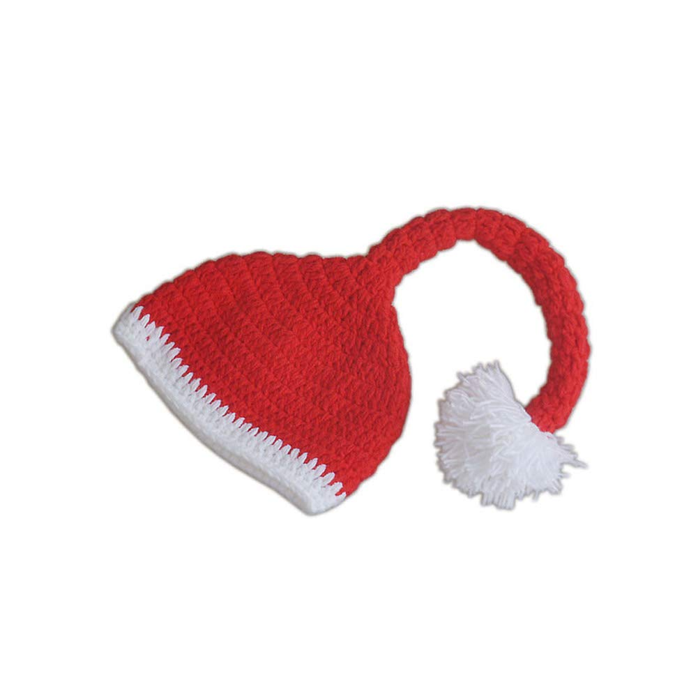 Aru neonato fotografia puntelli bambino all uncinetto Christmas outfit photo props