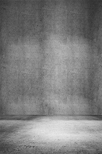Elder Gallery (AOFOTO 5x7ft Grunge Grey Wall Photography Backdrop Old Nostalgia Background Fashion Youngster Girl Boy Adult Man Portrait Artistic Vintage Photo Shoot Studio Props Video Drape Wallpaper)