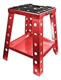 Pit Posse Off Road Universal Motorcycle MotoCRoss Dirt Bike Stand (Red)