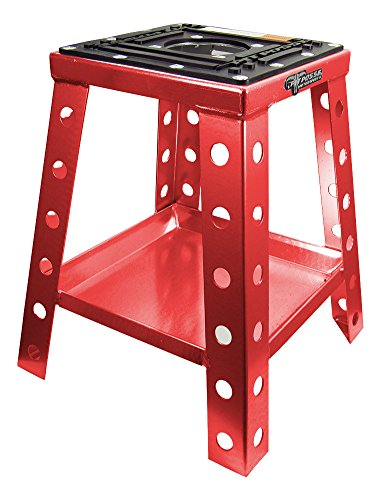 Pit Posse PP145R Off Road Universal Motorcycle MotoCRoss Dirt Bike Stand Red Mx Yamaha Honda Suzuki KTM