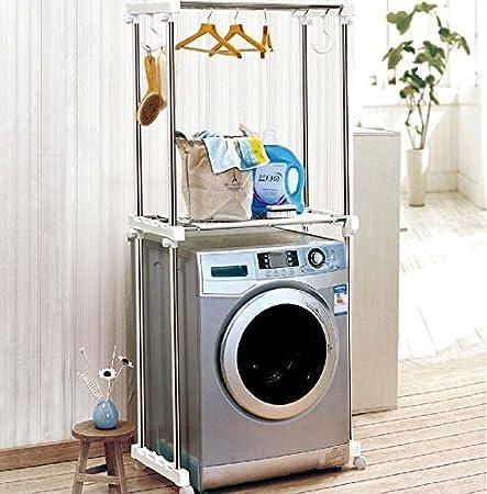 Stella Washing Machine Rack Storage Shelf Stand Clothes Hanger Rack