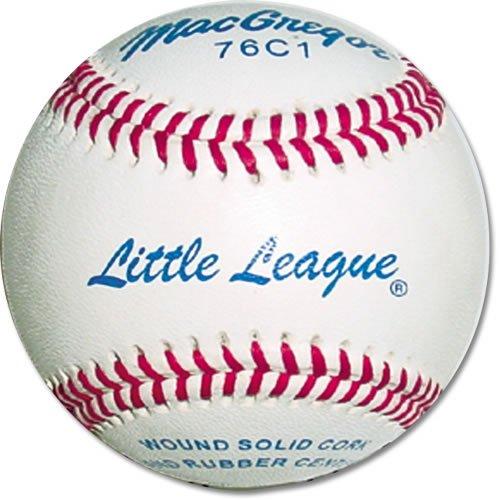 79p Baseballs - MacGregor #76-C1 Little League Baseballs (Pack of 12)