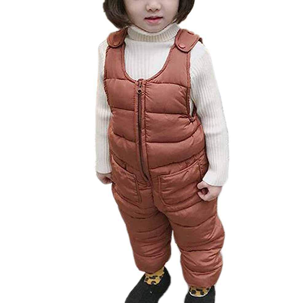 oneforus Pantaloni Invernali Invernali Unisex per Bambini