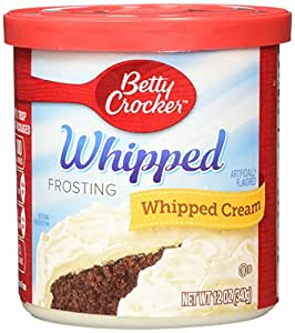 Amazon.com : Betty Crocker Frosting, Whipped Gluten Free ...