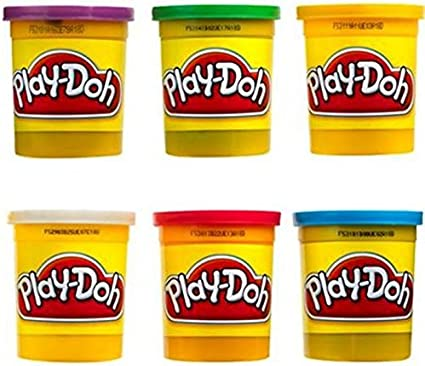 Play Doh 6 Pack