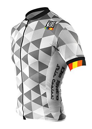De Soto Sport Skin Cooler Full Zip Tri Top Short Sleeve