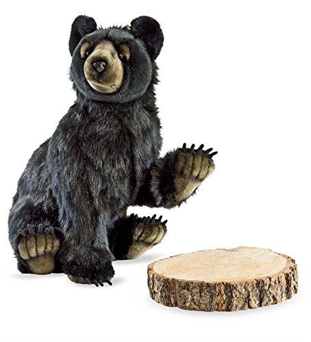 Hansa Bear Cub Plush, Black