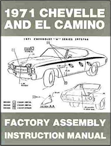 Chevelle and El Camino 1971 (Factory embly Instruction Manual ... on 71 chevelle parts, 71 chevelle 4 door, 71 chevelle exhaust system, 71 chevelle stripes, 71 chevelle wagon, 71 chevelle pro street, 71 chevelle engine, 71 chevelle body, 71 chevelle alternator wiring, 71 chevelle rear suspension, 71 chevelle malibu, 71 chevelle dimensions, 71 chevelle interior, 71 chevelle front suspension, 71 chevelle wiring harness, 71 chevelle ss, 71 chevelle super sport, 71 chevelle seats, 71 chevelle drawings, 71 chevelle rear axle,