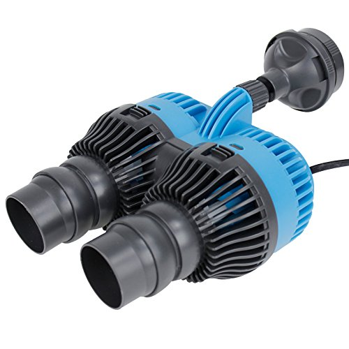 Aquaneat 6600GPH Wave Maker Aquarium Circulation Powerhead Submersible Water Pump Magnetic ()