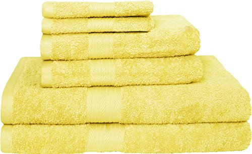 Story@Home Premium Blended Egyptian Cotton 6 Pcs Towel Set -