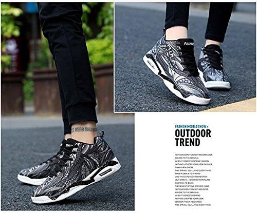 Zapatos de para Altas Baloncesto Libre y Aire Antideslizantes de Mujeres Botas Caminar para Negro para para Zapatos Escalada Deportes Mujer Zapatos alpinistas t7Odww
