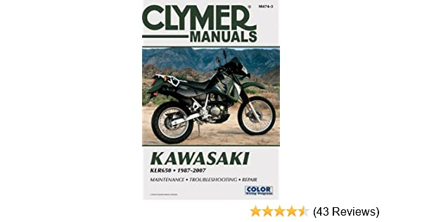 Kawasaki Klr650 19872007 Clymer Color Wiring Diagrams Penton. Kawasaki Klr650 19872007 Clymer Color Wiring Diagrams Penton Staff 0024185922520 Amazon Books. Kawasaki. Free Auto Wiring Diagrams 2006 Kawasaki Klr650 At Scoala.co
