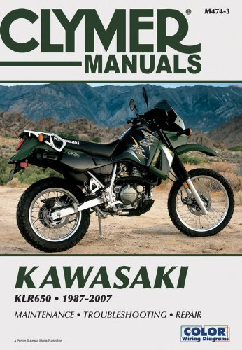 Kawasaki KLR650 1987-2007 (Clymer Color Wiring Diagrams) ()