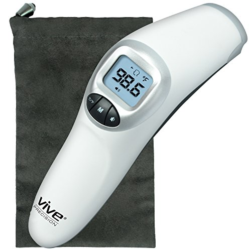 Forehead Thermometer by Vive Precision - Temporal Fever Thermometer