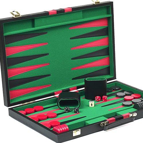 Greenwich Avenue Backgammon Set 15