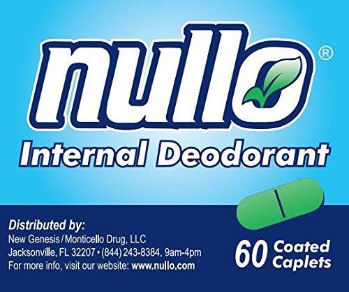 Nullo Internal Deodorant (60 Caplets)