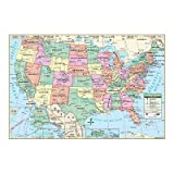 Kappa Map United States Wall Map 40'' x 28''