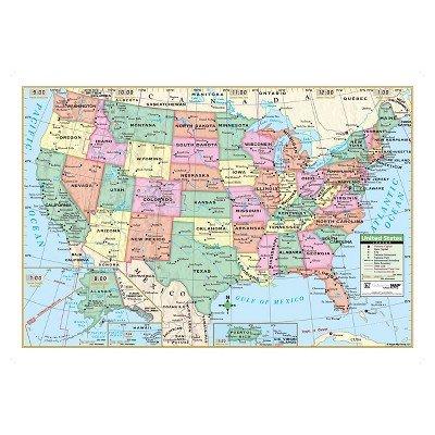 Kappa Map United States Wall Map 40'' x 28''