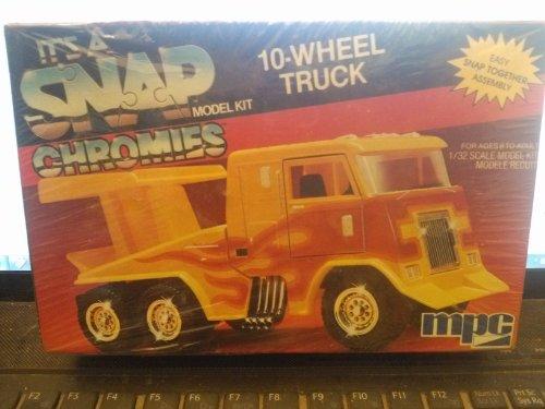It's a Snap Model Kit Chromes 10-Wheel Truck