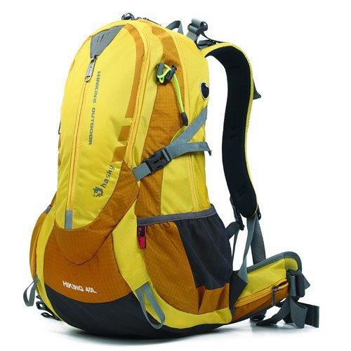 40L Outdoor-Camping-Wandern Sport Rucksack Trekking Klettern Reisen Rucksack Tasche Farbe blau