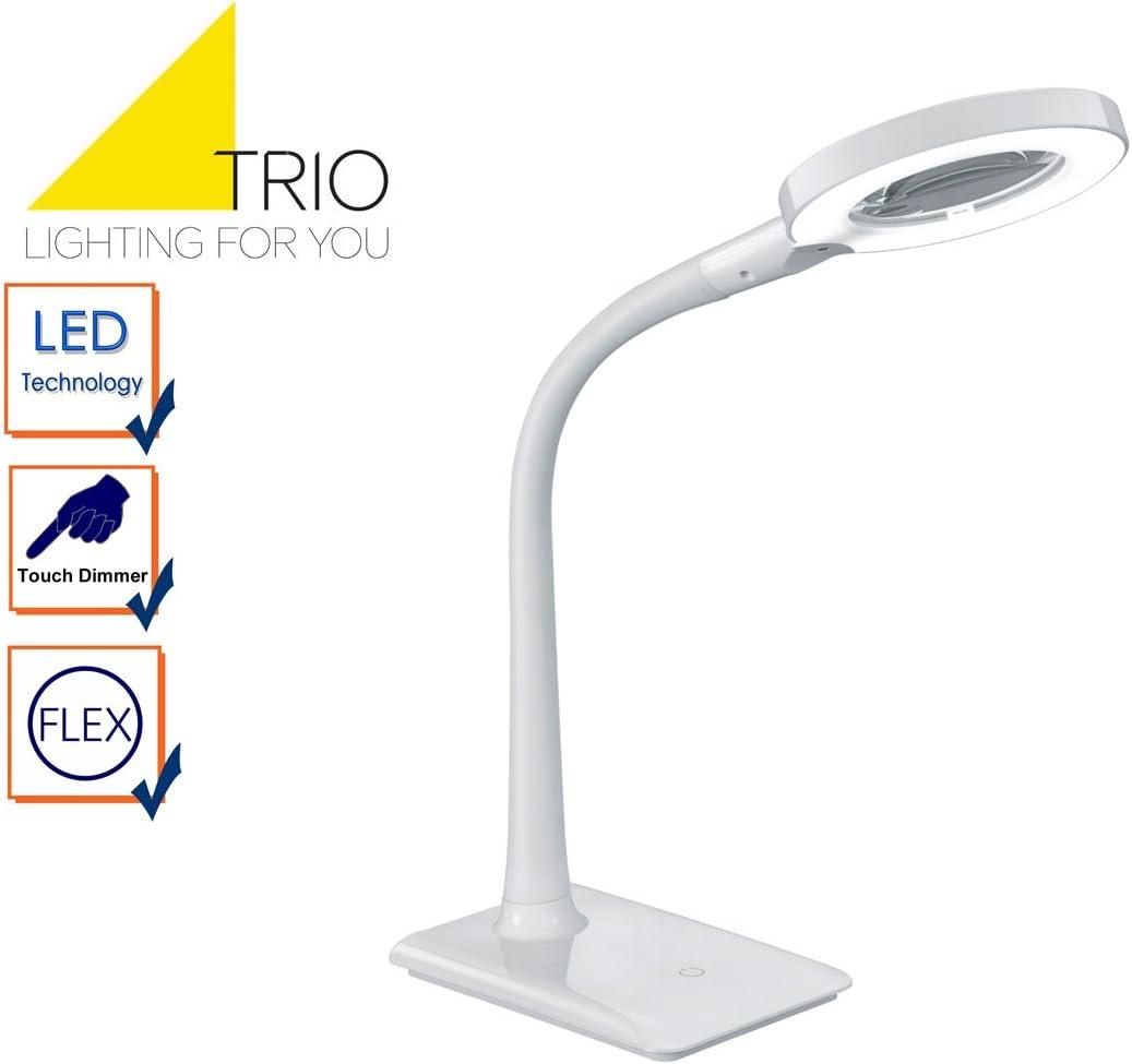 Illuminazione Per Interni 13 5x13 5x35 Cm Nero Trio Leuchten Lampada Da Tavolo Illuminazione True Engineering Com