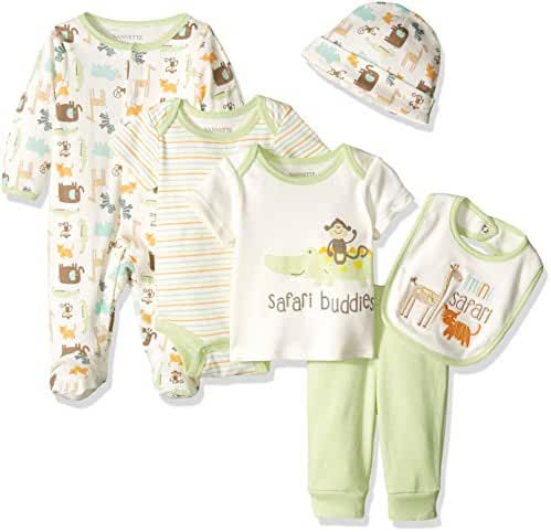 Nannette Baby Boys'' Gift Set 6 Pieces