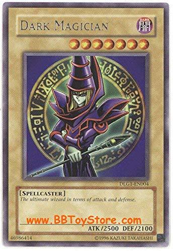 Yu-Gi-Oh! - Dark Magician (DLG1-EN004) - Dark Legends - Unlimited Edition - Rare
