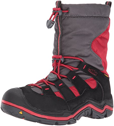 KEEN Unisex Kids' Winterport Ii Wp High Rise Hiking Shoes Tango Red/Black