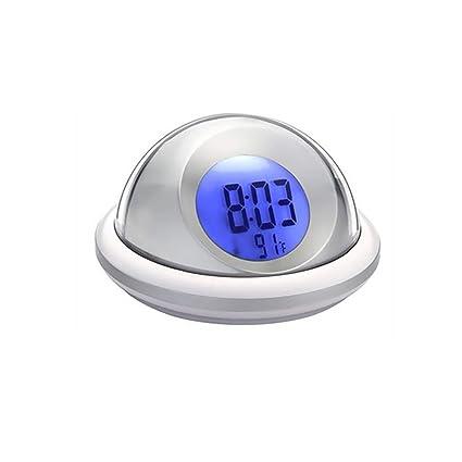 Reloj despertador digital, Zonman Pulsar Control Hora – Reloj despertador parlante con retroiluminación LED