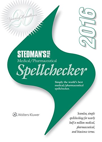 Stedman's Plus 2016 Medical/Pharmaceutical Spellchecker (Standard) by LWW