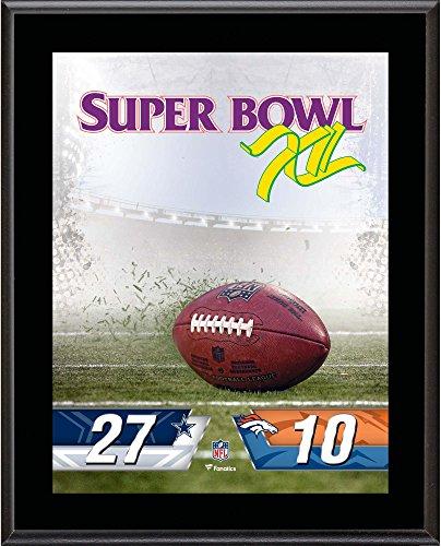 - Dallas Cowboys vs. Denver Broncos Super Bowl XII 10.5