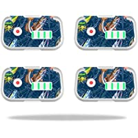 Skin For DJI Phantom 3 Drone Battery (4 pack) – Saltwater Compass | MightySkins Protective, Durable, and Unique Vinyl Decal wrap cover | Easy To Apply, Remove, and Change Styles | Made in the USA